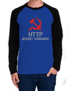 HTTP Internet for everyone Long-sleeve Raglan T-Shirt