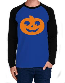 Belly pumpkin Long-sleeve Raglan T-Shirt