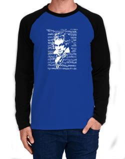 Beethoven symphony Long-sleeve Raglan T-Shirt