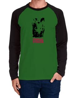 Primal Power - Rhino Long-sleeve Raglan T-Shirt