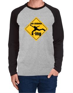 New Caledonian X-ing Long-sleeve Raglan T-Shirt