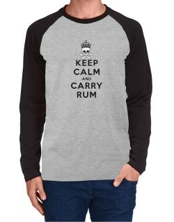 Carry Rum Long-sleeve Raglan T-Shirt
