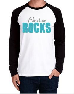 Alaster Rocks Long-sleeve Raglan T-Shirt