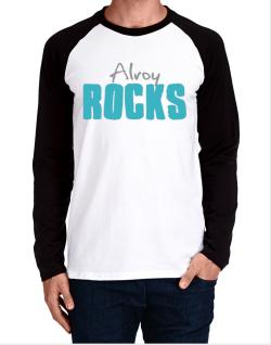Alroy Rocks Long-sleeve Raglan T-Shirt