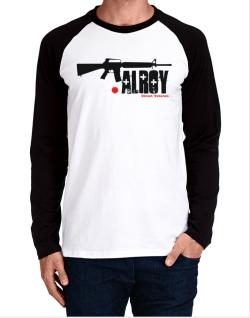 Alroy Street Veteran Long-sleeve Raglan T-Shirt