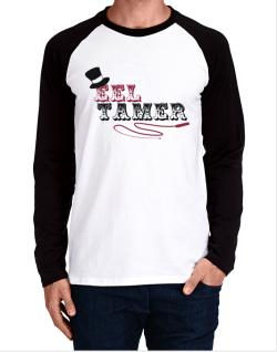Eel Tamer Long-sleeve Raglan T-Shirt