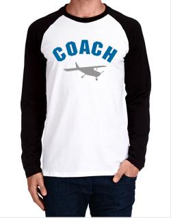 """ Aerobatics COACH "" Long-sleeve Raglan T-Shirt"