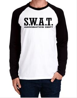 Swat Aerobatics Dept Long-sleeve Raglan T-Shirt