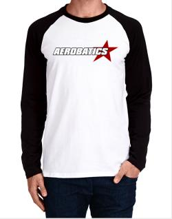 Aerobatics Usa Star Long-sleeve Raglan T-Shirt