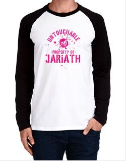 Untouchable : Property Of Jariath Long-sleeve Raglan T-Shirt