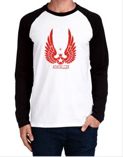 Acacallis - Wings Long-sleeve Raglan T-Shirt