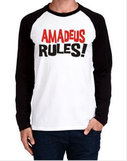 Amadeus Rules! Long-sleeve Raglan T-Shirt