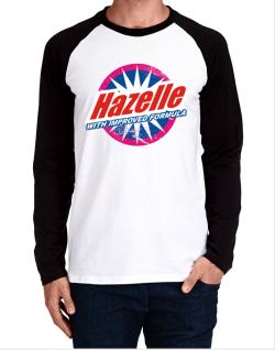 Hazelle - With Improved Formula Long-sleeve Raglan T-Shirt