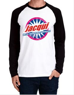 Jacqui - With Improved Formula Long-sleeve Raglan T-Shirt