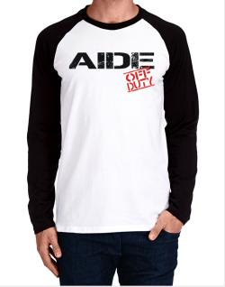 Aide - Off Duty Long-sleeve Raglan T-Shirt