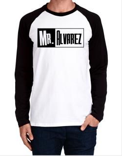 Mr. Alvarez Long-sleeve Raglan T-Shirt