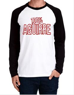 100% Aguirre Long-sleeve Raglan T-Shirt