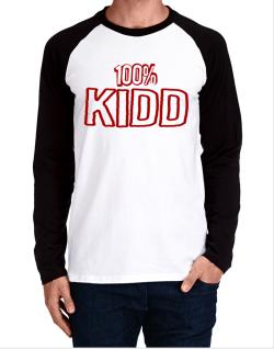 100% Kidd Long-sleeve Raglan T-Shirt