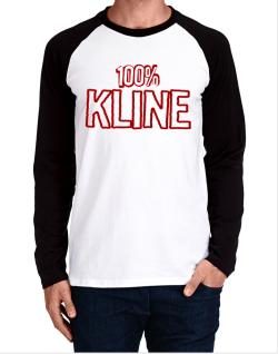 100% Kline Long-sleeve Raglan T-Shirt