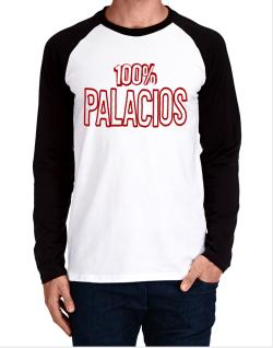 100% Palacios Long-sleeve Raglan T-Shirt
