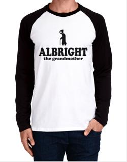 Albright The Grandmother Long-sleeve Raglan T-Shirt