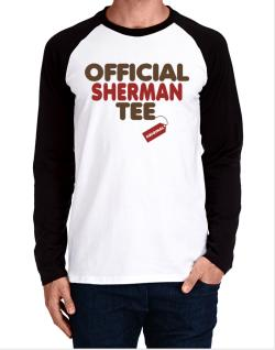 Official Sherman Tee - Original Long-sleeve Raglan T-Shirt
