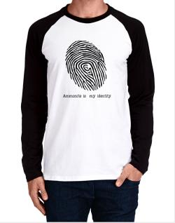 Ammonite Is My Identity Long-sleeve Raglan T-Shirt