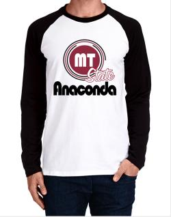Anaconda - State Long-sleeve Raglan T-Shirt