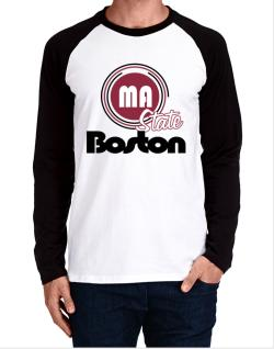 Boston - State Long-sleeve Raglan T-Shirt