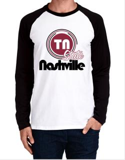 Nashville - State Long-sleeve Raglan T-Shirt