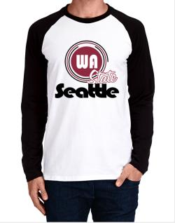 Seattle - State Long-sleeve Raglan T-Shirt