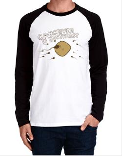 Conceived In Northeast Long-sleeve Raglan T-Shirt