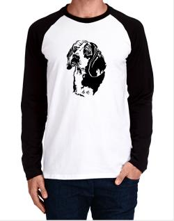 Beagle Face Special Graphic Long-sleeve Raglan T-Shirt