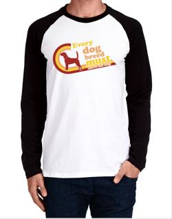 Beagle : Every Dog Breed Must Have Its Day! Long-sleeve Raglan T-Shirt