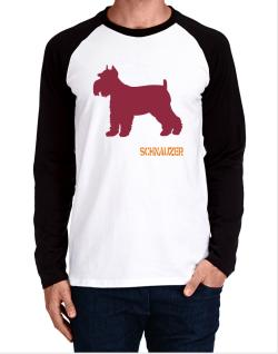 Schnauzer Long-sleeve Raglan T-Shirt