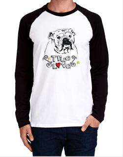 American Bulldog True Love Long-sleeve Raglan T-Shirt