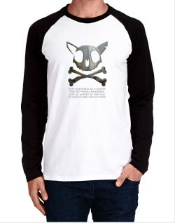 The Greatnes Of A Nation - Norwegian Forest Cats Long-sleeve Raglan T-Shirt