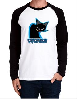 Pussy Whipped By My Euro Chausie Long-sleeve Raglan T-Shirt