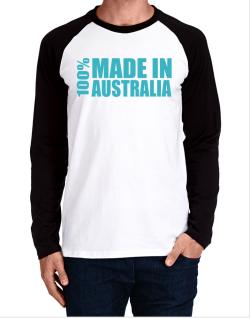 100% Made In Australia Long-sleeve Raglan T-Shirt