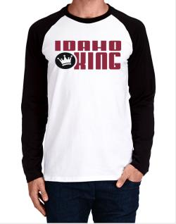 Idaho King Long-sleeve Raglan T-Shirt