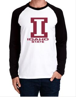 """ STATE ABC Idaho "" Long-sleeve Raglan T-Shirt"