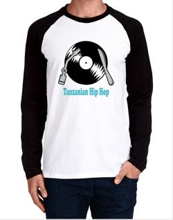 Tanzanian Hip Hop - Lp Long-sleeve Raglan T-Shirt