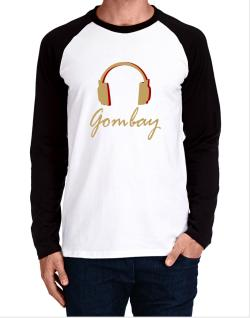 Gombay - Headphones Long-sleeve Raglan T-Shirt