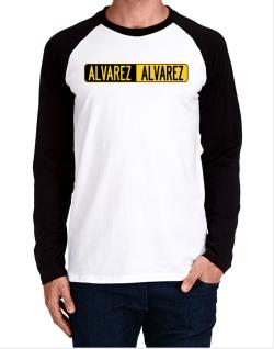 Negative Alvarez Long-sleeve Raglan T-Shirt