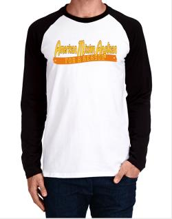 American Mission Anglican For A Reason Long-sleeve Raglan T-Shirt