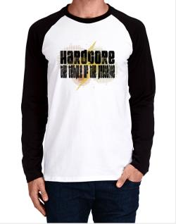 Hardcore The Temple Of The Presence Long-sleeve Raglan T-Shirt