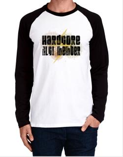 Hardcore Nlci Member Long-sleeve Raglan T-Shirt