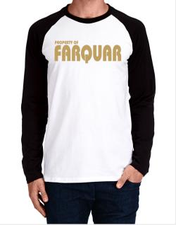 Property Of Farquar Long-sleeve Raglan T-Shirt