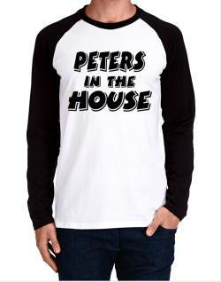 Peters In The House Long-sleeve Raglan T-Shirt