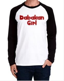 Dabakan Girl Long-sleeve Raglan T-Shirt